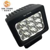7inch Impermeabilizan la luz de la impulsión de 90W LED, iluminación del LED de la conducción del camino, carro, coche, para el jeep, accesorios autos del coche