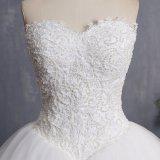 Амели скалистых 2018 шарик платье кружево Strapless свадебные платья