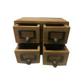 현대 작풍 대나무 나무로 되는 테이블 사무실 4 조직자 나무로 되는 내각