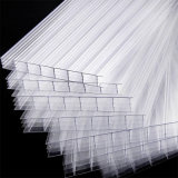 China-Lieferant überzogenes Vier-Wand Höhlung-Polycarbonat-UVblatt für Plastik