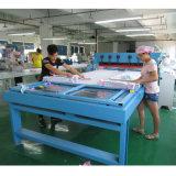 Machine de découpage de carte de couleur de livre témoin de tissu