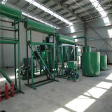 機械潤滑油の蒸留プラントをリサイクルする不用なエンジンの石油フィルター