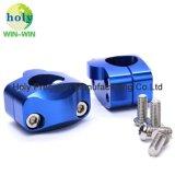 CNC die de Delen/de Toebehoren van het Metaal van het Aluminium voor het Blok van het Stuur van de Motorfiets machinaal bewerken