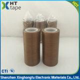 PTFEはグラスクロスのテフロンテープ絶縁体の布テープに塗った