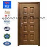 2018 un gran pedido de la puerta de acero, el nuevo diseño de la puerta de seguridad de acero, caliente en Europa y Estados Unidos