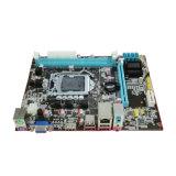 1*Pcie*1X+2*DDR3+Multi-VGA+ LANポート(任意選択HDMI)が付いている熱い販売H61-1155のマザーボード