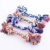 Het multi van de Katoenen van Kleuren Stuk speelgoed Hond van de Kabel, de toebehoren van het Huisdier