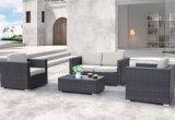 Sofà esterno stabilito del patio del giardino della casa dell'hotel dell'ufficio del salotto di vimini esterno dell'Angola (J661)