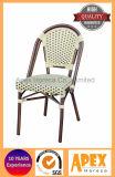 ビストロのフランスの椅子の籐椅子のタケ一見の喫茶店の家具