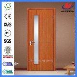 Porta de vidro de madeira moldada painel de 5 MDF/HDF