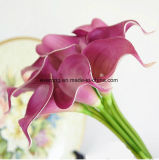 Fiore nuziale di seta della casa DIY dei petali di Rosa dei gigli di Calla dell'unità di elaborazione di cerimonia nuziale di simulazione del fiore artificiale della decorazione mini