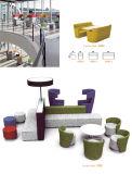 Mobilier de bureau tissu Loisirs Réunion Booth pour aire de réception