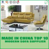 Base de sofá moderna del cuero del ocio de los muebles de oficinas