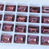 Grânulos de vidro reflexivos decorativos da fábrica de Pujiang para a fatura da jóia