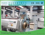 O PVC plástico/PE/PP/PPR água e tubo de conduíte elétrico/Tubo/perfil/folha (extrusor, lanço, enrolamento de corte, belling) Extrusão/Máquina de extrusão