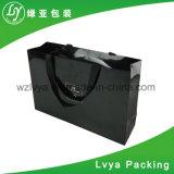 Projetar o saco de compra impresso do papel de embalagem