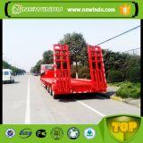 중국 새로운 상표 트레일러 60 톤 반 평상형 트레일러