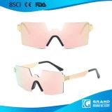 2017 occhiali da sole senza orlo 2306 del metallo di Vintate degli ultimi occhiali di protezione di modo in azione