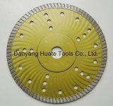 Lame de scie à diamant Turbo Super, super disque diamanté
