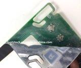 Carte de circuit imprimé souple avec le métal des dômes en caoutchouc de silicone FPC de commutateur