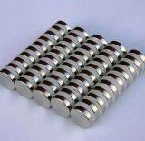 Comercio al por mayor imán de neodimio de cilindro magnetizado diametralmente