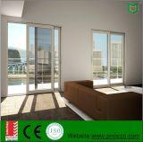 Portello scorrevole di alluminio di alta qualità con vetro Tempered