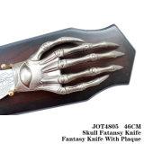 A mão da decoração 46cm da tabela da faca da fantasia do deus
