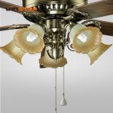 56 인치 구리 합판 장식적인 점화 천장 선풍기