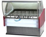상업적인 냉장고 아이스크림 진열장 (GN1/3 팬) Wdb-V10