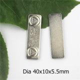 Magnetischer langer Magnet des Abzeichen-40mm