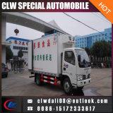 4*2 6*2 camion réfrigéré avec -18-0 Température différente pour la vente