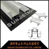 35x35mm Perfil de aluminio LED LED de luz lineal