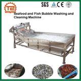 فواكه البحر وسمكة فقاعات غسل وتنظيف آلة