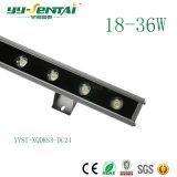 36W de alta potencia LED bañador de pared exterior de la luz para la construcción de la iluminación