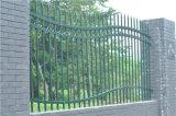 Bella barriera di sicurezza 90-1 del giardino della parte superiore dell'onda