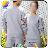Collet rond personnalisé Hoodie chaud de longue chemise d'ouatine de logo