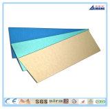 Diversos tipos de hoja de aluminio de Acm del panel compuesto de aluminio
