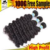 Владение скручиваемости бразильских выдвижений волос 10A