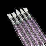 Heißer Verkaufs-Schönheits-Produkt-Lack-Pinsel-Nagel-Kunst-Entwurfs-Eigenmarken-Nagel-Pinsel