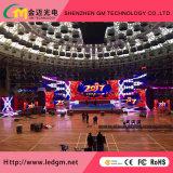 P3 de alta definición Full HD LED de color en el interior de la pared de vídeo