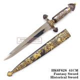يدويّة تقليد [إيوروبن] فارسة خنجر خنجر [إيوروبن] خنجر تاريخيّة [41كم]