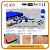Machine de fabrication de briques en bloc sur mesure avec 12PCS / Moule