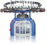 2017熱い販売の単一にジャージー円に機械編むこと