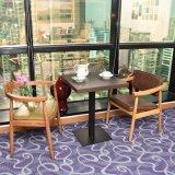 Деревянный обеденный стол и стул обеденный стол, 2 стула
