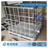 IBC Rahmen-Produktionszweig Unterseiten-Ladeplatten-Ecken-Schweißgerät