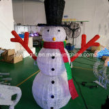 Straßen-Motiv-Schneemann-Feiertags-Licht der Fabrik-Feiertags-Zeit-im Freien LED 3D