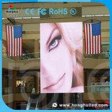 Alta visualización de LED al aire libre del brillo P5 para el edificio comercial
