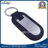 Kundenspezifische fördernde Qualität preiswertes ledernes Keychain