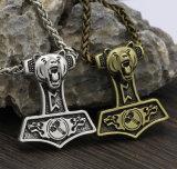 Norse van Viking de Halsband van de Tegenhanger van Mjolnir van de Hamer van Skandinavische van Viking van de Halsband van de Mensen Thor van de Gift
