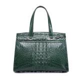 Bolso de mano genuino de encargo del diseñador del bolso de las mujeres del cuero del cocodrilo